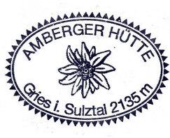 Hüttenstempel Amberger Hütte