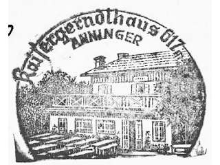 Hüttenstempel Anninger Haus