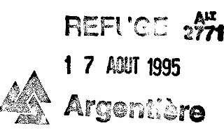 Rif. Argentiere