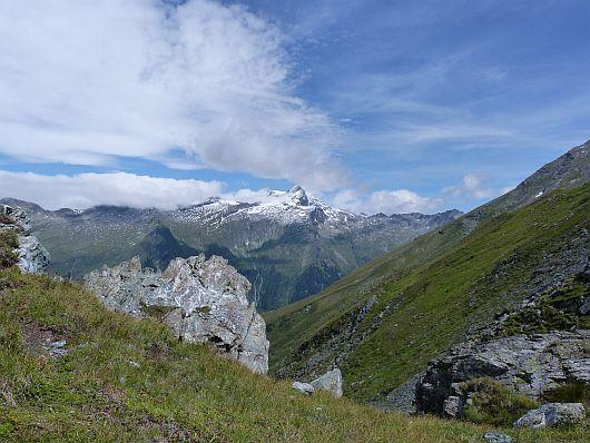 Im Norden zeigte sich nun auch der Ankogel mit seinen 3252 m.