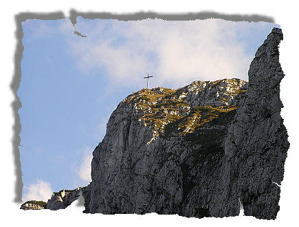 Letzter Blick zum Gipfel