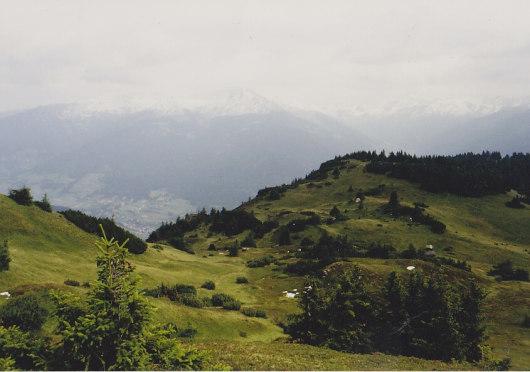 Blick in Richtung Zillertal.