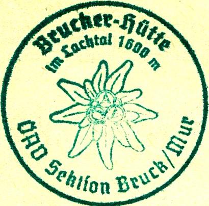 Hüttenstempel, Brucknerhütte