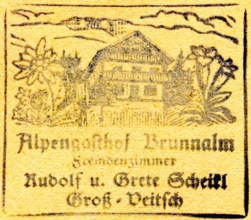 Hüttenstempel, Brunnalm