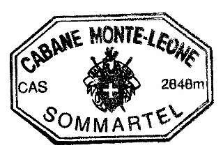 Cabane Monte Leone