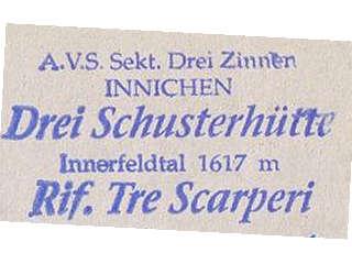 Drei Schuster Hütte