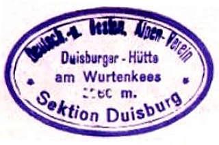 Duisburger Hütte