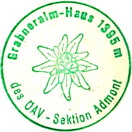 Grabneralmhaus, Hüttenstempel