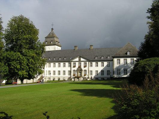 Kloster Grafschaft; Strat- u. Endpunkt der Wanderung