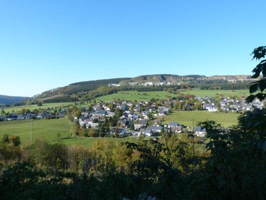 Blick auf Hildfeld