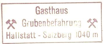 Grubenbefahrung/Hallstatt