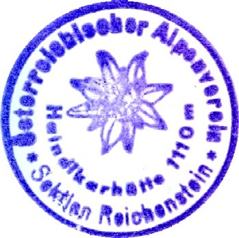 Hüttenstempel, Haindlkarhütte