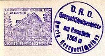 Hüttenstempel, Herrgotschnhütte