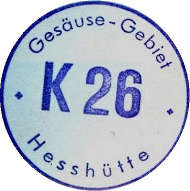 Hesshütte Hüttenstempel