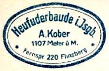 Heufuderbaude - Isergebirge