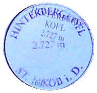 Hinterbergkofel - Villgratner Berge