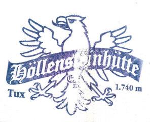 Hüttenstempel Höllensteinhütte