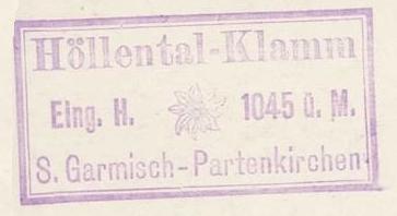 Höllentalklamm - Wettersteingebirge