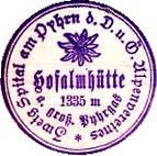 Hofalmhütte