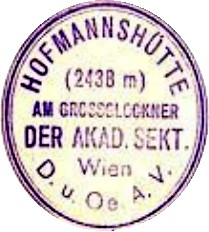 Hüttenstempel, Hofmannshütte