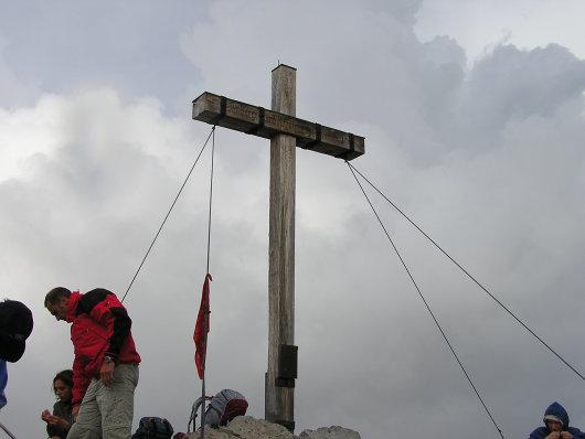 Gipfelkreuz vom Hohen Licht