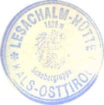 Stempel Lesachalmhütte