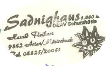Stempel Sadnighaus