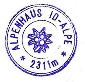 Id-Alpe, Hüttenstempel