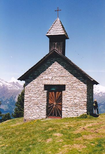 Kapelle am Glocknerblick.