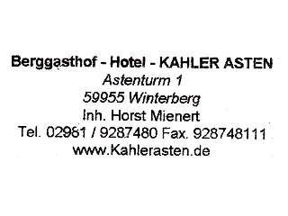 Kahler Asten