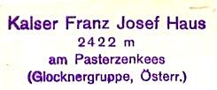 Kalser-Franz-Josef-Haus