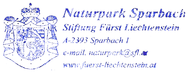 Naturpark Sparbach - Lichtenstein