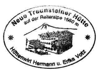 Neue Traunsteiner Hütte - Berchtesgadener Alpen