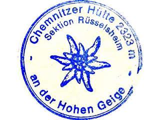 Stempel Chemnitzer Huette