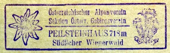 Peilsteinhaus, Hüttenstempel