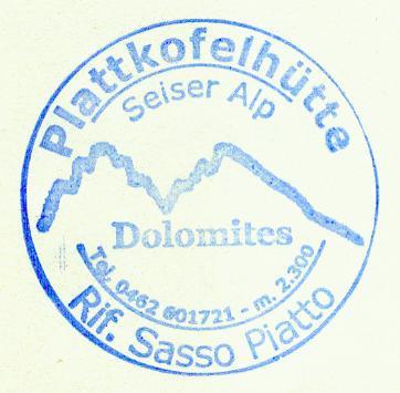 Plattkofelhütte - Langkofelgruppe