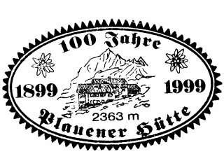 Plauener Hütte - Zillertaler Alpen (von 1999)