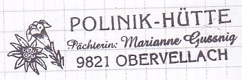 Polinikhütte - Kreuzeckgruppe