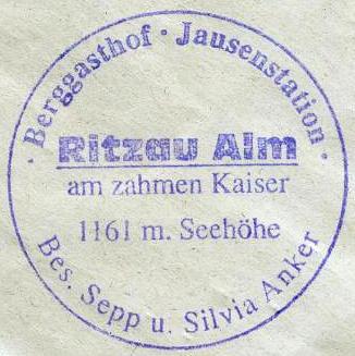Ritzau Alm - Kaisergebirge