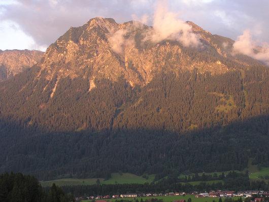 Das Rubihorn von Obersdorf gesehen