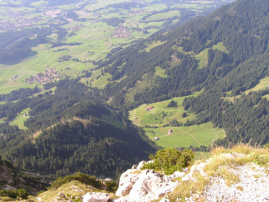 Blick vom Rubihorn