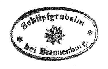 Schlipfgrubalm - Mangfallgebirge