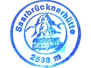 Hüttenstempel Saarbrückner Hütte
