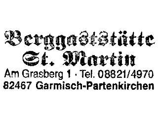 St. Martin - Werdenfelser Land
