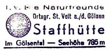 Staffhütte - Gutensteiner Alpen