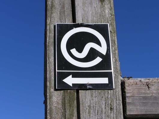"""Das Wanderzeichen """"Via Adrina"""""""