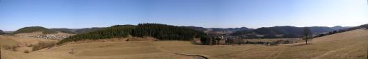 Panorama von der Aussichtsplattform.---Vergrözerung durch KLICK auf das Bild---
