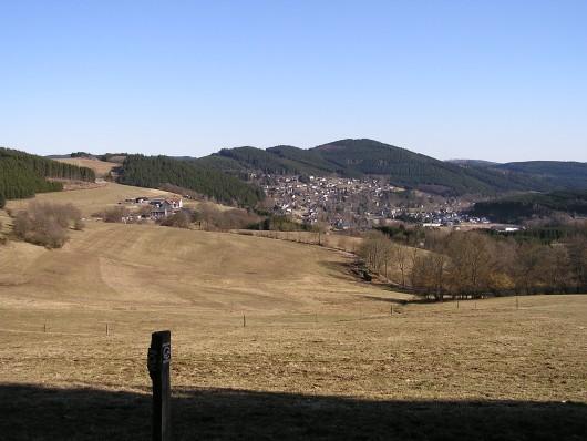 ... und am heutigen Tag letztmalig nach Schwarzenau.