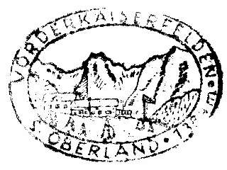 Vorderkaiserfelden Hütte - Kaisergebirge