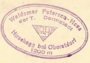 Waldemar-Petersen-Haus - Allgäuer Alpen